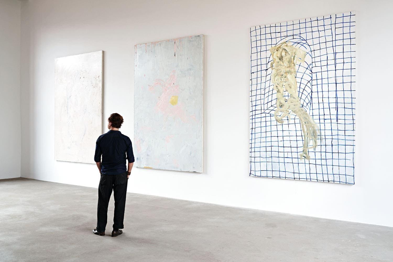 Andreas Golder, painter, maler, artist, berlin, saskia uppenkamp, photographer, Fotografin