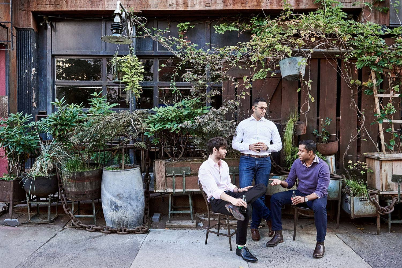 the hundert, startup, new york, magazine, founder, ceo, berlin, saskia uppenkamp, photographer, portrait, fotograf, Bluecore, Max Bennet, Mahmoud Arram and Fayez Mohamood