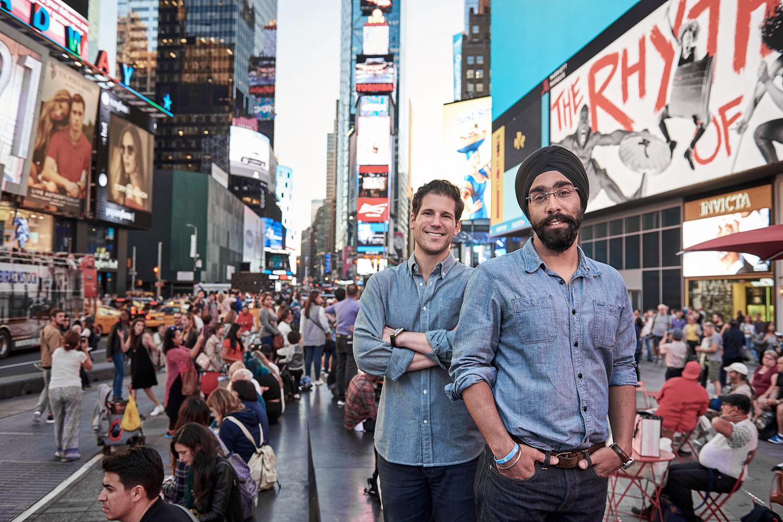 the hundert, startup, new york, magazine, founder, ceo, berlin, saskia uppenkamp, photographer, portrait, fotograf, Dropel Fabrics, Bradley Feinstein and Simardev Gulati