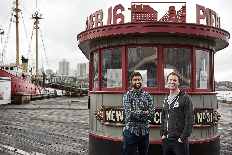 the hundert, startup, new york, magazine, founder, ceo, berlin, saskia uppenkamp, photographer, portrait, fotograf, Fundera, Rohan Deshpande (Co-Founder, CTO) and Jared Hecht (Co-Founder, CEO)