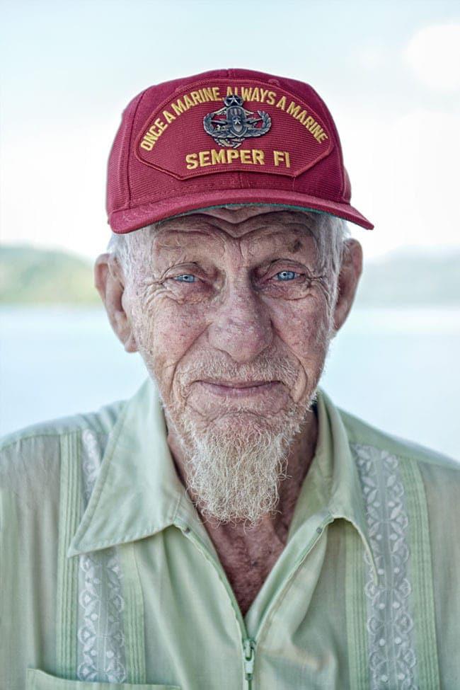 veteran, vietnam, gunny, portrait, travel, costa rica, old, story, saskia uppenkamp, photographer, fotografie, portrait