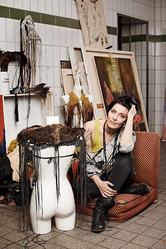 Kalina, An!mal Heartwear, designer, costume, artist, berlin, photography, saskia uppenkamp, portrait