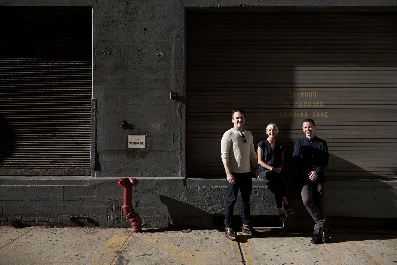 the hundert, startup, new york, magazine, founder, ceo, berlin, saskia uppenkamp, photographer, portrait, fotograf, Sols, Geoff Kozma (VP Engineering), Kegan Schouwenburg (Founder, CEO) and Jeff Smith (COO)