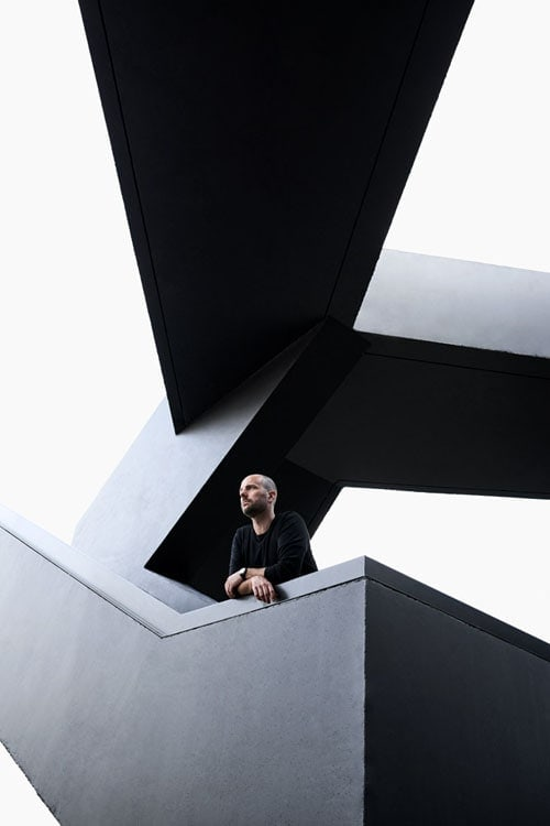 Christopher Bauder; Licht; Künstler; Saskia Uppenkamp; photographer; portrait; Berlin; Fotograf