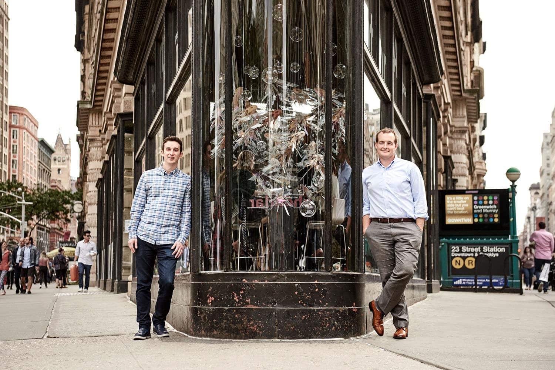 the hundert; startup; new york; magazine; founder; ceo; berlin; saskia uppenkamp; photographer; portrait; fotograf; Flatiron Health, Zach Weinberg, Nat Turner