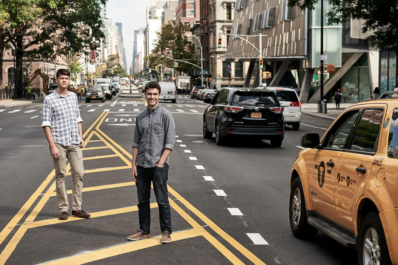 the hundert; startup; new york; magazine; founder; ceo; berlin; saskia uppenkamp; photographer; portrait; fotograf; IrisVR, Nate Beatty, Shane Scranton