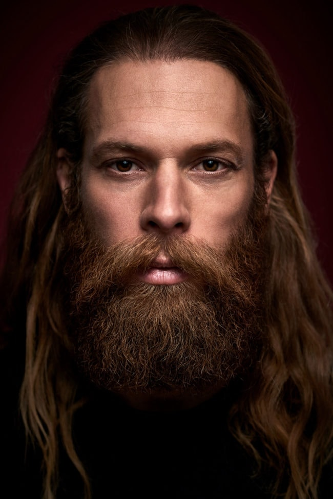 Saskia Uppenkamp; Vollbeard; Photographer; Model; Male; Portrait