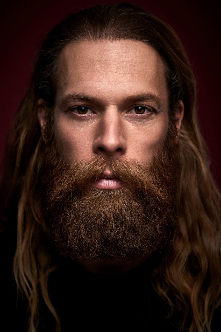 Saskia Uppenkamp; Vollbeard; Photographer; Model; Male; Portrait