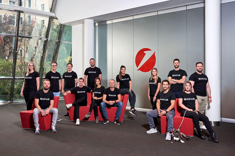 HypoVereinsbank; UniCredit; Tech Team; Startup; Teamfoto; Gruppenbild; Gruppenfoto; Saskia Uppenkamp; Fotograf; Berlin; Portrait; Photographer; PR; Presse; PR-Foto